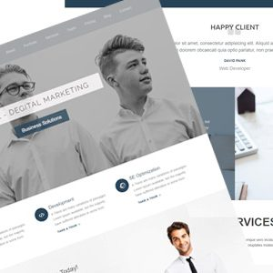Olea – Agency, Digital Marketing, and Personal Template